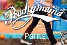 Peachymama High Waisted Pants / Peachymama has launched a new range of high waisted pants that are especially designed for when you've just had your baby,  gently supporting your post pregnancy belly without tight elastic - so no unsightly bulges. The high waist band also works well for c-section women as it doesn't interfere or rub against that sensitive area. Peachymama's high waisted pants look great on and are designed to go with their range of nursing tops and breastfeeding tank tops.