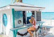 Beach & Beachwear / Wondering what to wear to the beach then scroll below