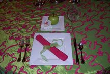 Table Settings / by Fun Stuff Custom Parties Party Planners and Gifts