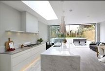 Rooflights - Kitchens / Introduction of rooflights bringing additional light and energy into your kitchen