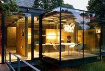 Inspiration - Frameless Units / Minimalistic aluminium framed units, maximising glass and reducing visible sightlines
