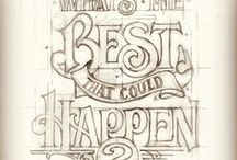 Typography / Different sorts of type