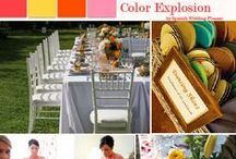 Our Wedding Mood Boards / Find various decorations, cakes and flowers by Spanish Wedding Planner.
