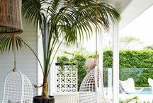 Veranda and garden