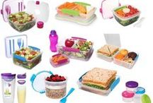 cute lunch boxes and bottles