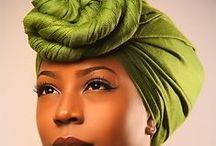 Afrospirit in Wrapping / Head wrapping, dress wrapping...in African style