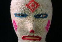 Masks / Knitted maskes