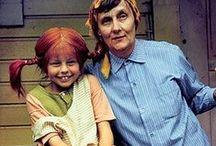 Astrid Lindgrens Verden / Astrid Lindgren har skabet en rigdom af fortællinger og skønne karakterer. Vi deler Pippi, Emil, Brødrerne Løvehjerte, Karlson og alle de andre vidunderlige karakterer her