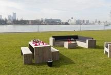Buitenmeubel Collectie 2013 / De nieuwe zomercollectie is uit!! Allemaal hippe tuinmeubelen met bekleding in kleur naar keuze!!
