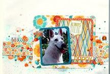 scrapbook || Helens Color Life / My scrapbooking layout I made during 2014 and earlier.