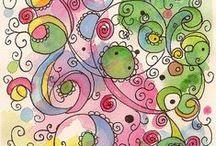 art || Drawing, doodeling