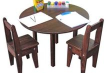 Children's Furniture / Crafted from real wood to be passed from one generation to the next