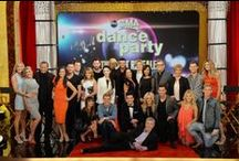 """DWTS / Season eighteen of Dancing with the Stars premiered on March 17, 2014. Len Goodman, Carrie Ann Inaba and Bruno Tonioli returned as judges; Tom Bergeron returned as host while Brooke Burke-Charvet was replaced by Erin Andrews as co-host. This season will also be the first to feature a new twist called, """"The Switch Up"""". Each celebrity will be required to leave his or her assigned partner for one week and perform with a new professional. / by Tonya"""