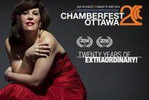 Chamberfest Ottawa 2014 (20th anniversary) / by Ottawa Chamberfest