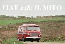 Fiat 238 Around the World / Foto di Fiat 238 pescate qua e là dal web. Il Fiat 238, versione italiana del più blasonato Westfalia, è stato ed è tuttora un mezzo eccezionale e versatile per viaggi lunghi o brevi. Se lo trovate in giro, taggatelo!