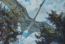 Trias 208,5 à 252,17 MA (Supérieur, Moyen, Inférieur) / Ere: Mésozoïque (Secondaire) . Période: Trias. 3 époques: SUPERIEUR: *Rétien (208,5) *Norien (227) *Carnien (237): extinction du Trias jurassique (env. 50% des espèces). MOYEN: *Lodinien (242) *Anisien (247,2). INFERIEUR: *Olenekien (251,2) *Induen (252,17 +0,06): 1° dinosaures, mammifères ovipares, algues calcaires dans les mers, forêts de conifères.