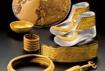 Hallstatt (- 800 à -400)  1° âge du Fer / Protohistoire: âge du cuivre, âge du bronze, 1° âge du fer (HALSTATT: -800 à -450), 2 âge du fer (LA TENE: -450 à -50)