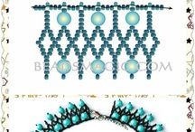 Free Beading Patterns You Have to Try / This board is for FREE patterns, tutorials, and guides how to make beaded jewelry only. Please limit pins to 10 at a time. You will be removed from the board if you fail to follow these simple rules.   To be contributor, feel free to e-mail me at justine84@gmail.com along with your Pinterest username.
