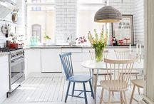 White & Pastels interior