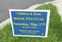 Children's Book Festival 2014 / Over 500 people attended the Children's Book Festival @ The Hillsborough Library on Saturday, May 17. The event, sponsored by the Hillsborough Library Board, was a wonderful success! For more info check out the festival's Facebook page @ https://www.facebook.com/pages/Hillsborough-Public-Librarys-Childrens-Book-Festival/1415807485337476 / by Hillsborough Public Library
