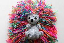 Amigurumi / Fofuras de crochet e tricot