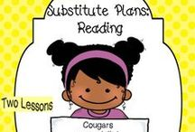 Substitute Lessons & Ideas / What to do if you need a sub? Plan ahead!