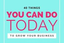 Blogging + Small Business Tips / The Best in Blogging and Business Tips, from Starting up through Marketing, Content Creation, Making Money and Technology & Tools to Social Media and Product Creation.