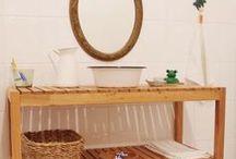 #MontessoriEntdecker im Badezimmer