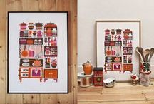 kitchen art / i have an emply wall on my kitchen so i'm searching for inspiration to fill it. / by synapse *