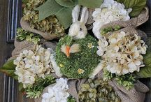 Wreath Ideas / by Amanda Hazlewood
