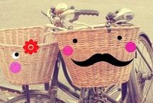 """♥ Bicicletas - Bicycles. / """"La vida es como una bicicleta, hay que pedalear hacia adelante para no perder el equilibrio"""" Albert Einstein"""
