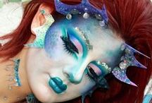 That's some fantasy.. / Fantasy makeup :) / by Bryanna Cole