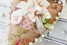 Sachets, Pincushions & Flowers / by Lynda Rygmyr
