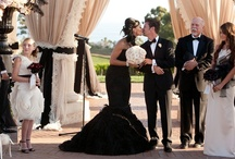 Glamorous, Elegant, and Edgy. My Wedding Ideas. / My wedding colors are black, red, and silver. Think Glam!!! My fiance and I aren't your average couple, so why have an average wedding! UPDATE!!! My husband and I have been married for over a year now, and I thank Pinterest SO much for the amazing ideas for our dream wedding!!!