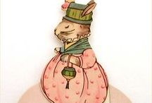 Easter Bunnies / Darling little bunnies celebrating Easter fun! / by Candy Thompson