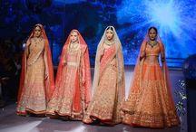Indian Bridal Wear Ideas / Indian Bridal Wear, Asian Bridal Wear, Lehengas, Cholis, Pakistani Bridal Wear