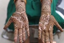 Henna Ideas / Mehndi and Henna designs and ideas, inspiration for the bride