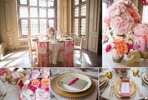 Pink wedding theme ideas / Ideas and inspiration for a pink theme at your wedding