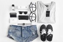 | flat - lay inspirations | / Flat-lay fashion inspirations    / by Idc Fashion-Styling