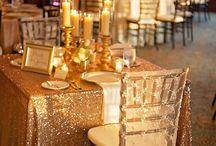 Sequins Wedding Inspiration / Sparkly Sequins