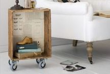BOXES wooden crates &
