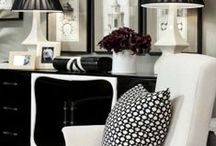 Black Decor ... / by Michelle Gardner