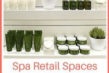 Spa Retail Spaces + Merchandising / Are your retail sales faltering? Maybe it's time to freshen up your retail space to stimulate revenues!
