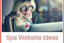 Spa Website Ideas / Spa website ideas & inspiration