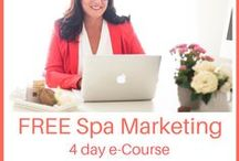 FREE Spa Marketing e-Course / How to dramatically increase Ideal Client spa bookings + make them stick!