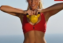 KETTLE BELL, Muscle-Building Workouts / Gymra provides ways to create unique #fitness routines for women & men from our vast library of mini-videos. Easy-to-follow #exercise videos designed for your level of #fitness and #workout needs. HEALTH & FITNESS. / by GymRa Online Fitness