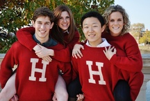 The Harvard H Sweater Photoshoot / by The Harvard Shop