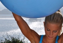 STABILITY BALL, Muscle-Building Workouts / Gymra provides ways to create unique #fitness routines for women & men from our vast library of mini-videos. Easy-to-follow #exercise videos designed for your level of #fitness and #workout needs. HEALTH & FITNESS. / by GymRa Online Fitness