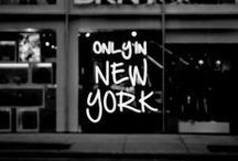 I ♡ NY / Where I left a piece of my soul.
