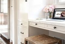 workspace / Office , Small Office, Office Organization, Office Nook, Work from Home